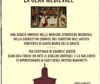 Locandina: La cena Medievale del Tordo Matto