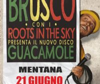 Locandina: Brusco x Roots in the Sky live