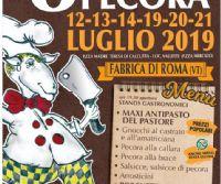 Locandina: Sagra della Pecora di Fabrica di Roma