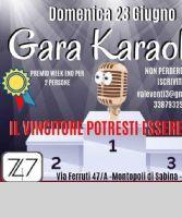 Locandina: Gara karaoke