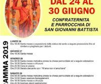 Locandina: Festa di San Giovanni Battista