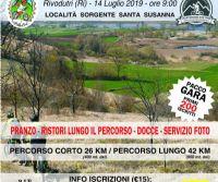 Locandina: Mountain Bike. Cicloturistica 'Via dei Laghi' a Rivodutri