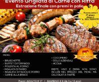 Locandina: Evento Grigliata di Carne con Riffa