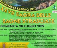 Locandina: Sagra delle Sagne Strasciate 2019