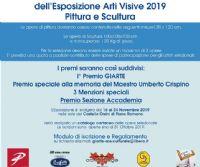 Locandina: V° Esposizione Arti visive 2019