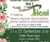 Locandina: Monte Compatri tra i fiori