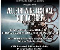 """Locandina: Velletri Wine Festival """"Nicola Ferri"""""""