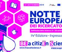Locandina: La Notte Europea dei Ricercatori di Frascati Scienza