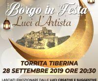 Locandina: Borgo in Festa. Luci d'Artista