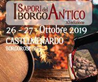 Locandina: I Sapori del Borgo Antico