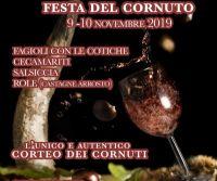 Locandina: Sagra della Rola - Festa del Cornuto