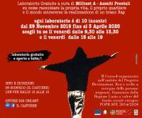 """Locandina: Laboratorio Rap """"Destinazione Rap"""" e Contest """"Monterocktondo"""" 16 Edizione"""