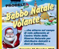 Locandina: Babbo Natale volante a Poggio Bustone