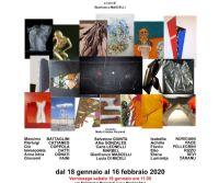 Locandina: Segni, spessori, forme e materie