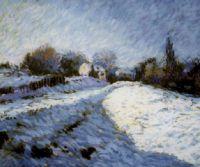 Locandina: Neve, dal paesaggio all'astratto