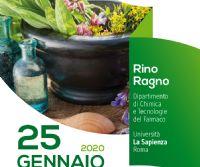 Locandina: Ricerca, sviluppo e innovazione nel settore delle piante aromatiche e officinali