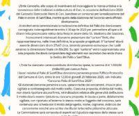 Locandina: Concorso Palio di Sant'Oliva 2020