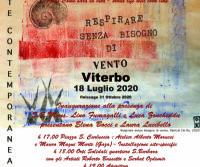 Locandina: L'Arte Contemporanea a Viterbo è Solidale