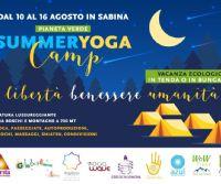 Locandina: FERRAGOSTO YOGA CAMP