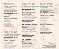 Locandina: Velino, una valle d'arte e cultura. Mondi possibili