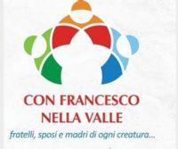 Locandina: Con Francesco nella Valle 2020