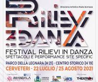 Locandina: Festival Nazionale Rilievi In Danza 2021