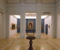 Locandina: La cronaca della inaugurazione di due pinacoteche