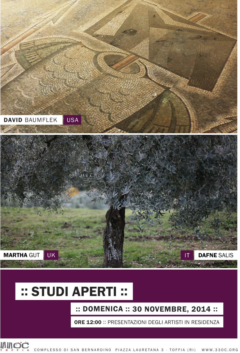 Mappa evento studi aperti degli artisti in residenza for Residenza degli artisti