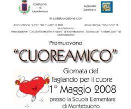 """Locandina: 1 Maggio 2008 - """"CUOREAMICO"""""""