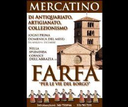 Locandina: mercatino di Antiquariato, Artigianato, Collezionismo
