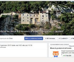 Locandina: Epifania sui Monti di Francesco a Greccio. Così è se vi (ap)pare