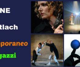 Locandina: Stagione di Teatro Contemporaneo e Stagione Ragazzi al Teatro Potlach