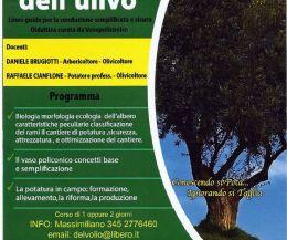 Locandina: Corso di potatura