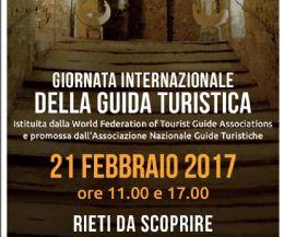 Locandina: Le guide italiane si mobilitano per le aree colpite dal sisma