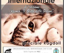 Locandina: Esposizione Felina Internazionale