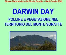 Locandina: DARWIN DAY - Polline e vegetazione nel territorio del Monte Soratte