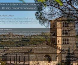 Locandina: Fara la Sabina e Farfa la laica - Grandi pensieri in cammino