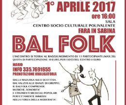 Locandina: Bal Folk, incontriamoci ballando