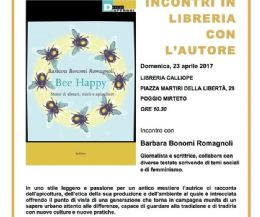 Locandina: Bee Happy. Storie di alveari, mieli e apiculture