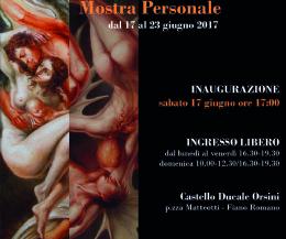 Locandina: Mostra personale di Daniela Ventrone