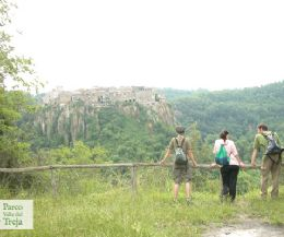 Locandina: Storia e natura lungo il fiume Treja
