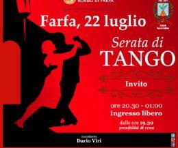 Locandina: Serata di Tango