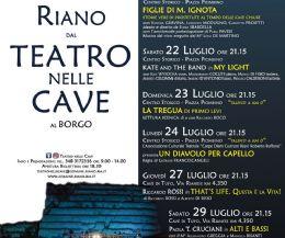Locandina: Teatro nelle Cave