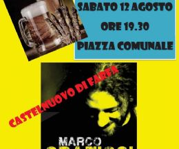 Locandina: Cena e Concerto Rino Gaetano-Cover Marco Graziosi