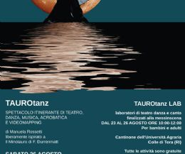Locandina: TAUROTANZ LAB