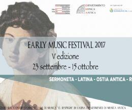 Locandina: Early Music Festival V edizione