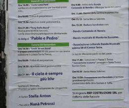 Locandina: Festeggiamenti in onore di Santa Teresa del Bambino Gesù
