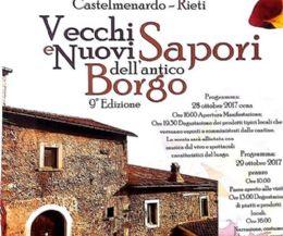 Locandina: Vecchi e nuovi sapori dell'antico borgo