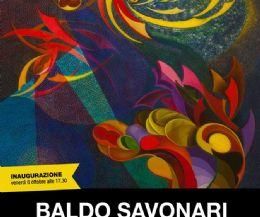 Locandina: Personale di Baldo Savonari
