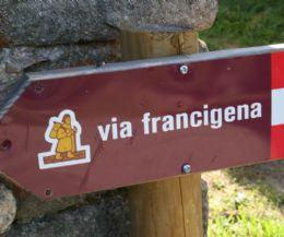 Locandina: La Via Francigena del Sud e i pellegrini nei luoghi dei Castelli Romani